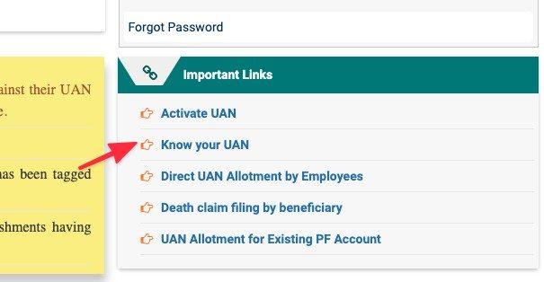 Check UAN Status Online