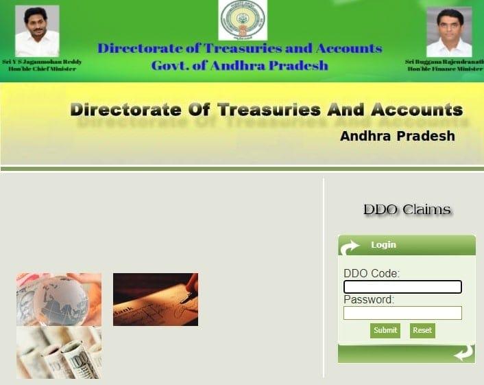 Ap Cyber Treasury Ddo Request (Ddoreq) New Web Portal Https://Treasury.apcfss.in/Ddoreq