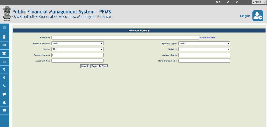 Pfms Scholarship: Manage Registered Agency