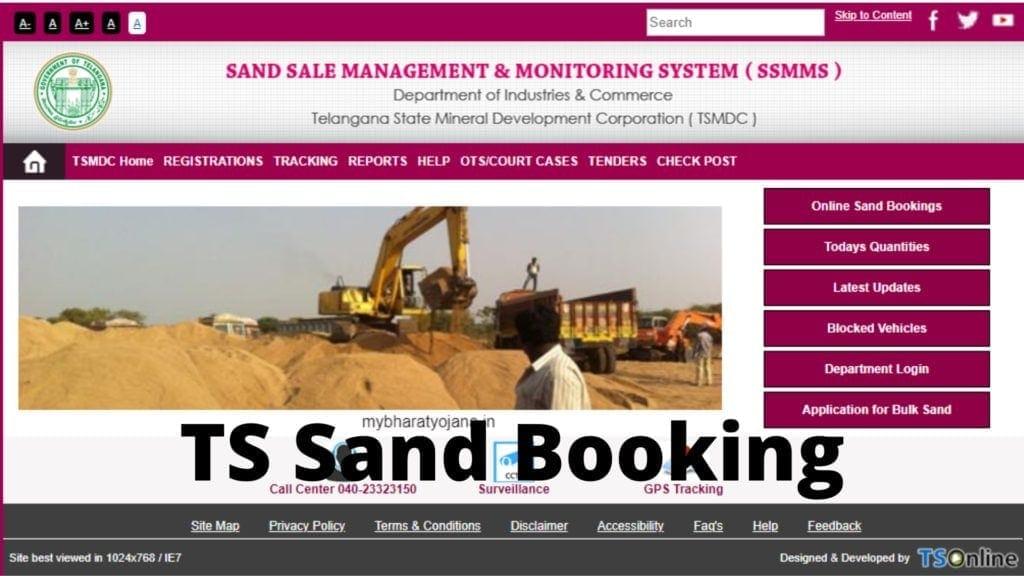 Ssmms Procedure To Apply For Bulk Sand
