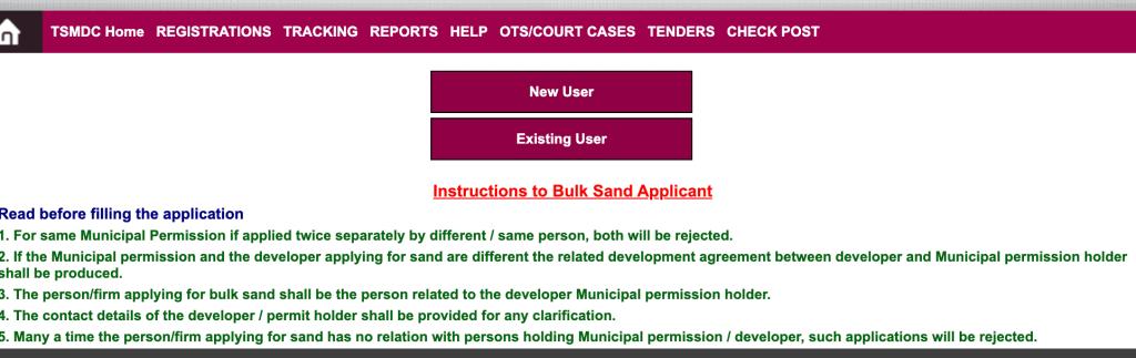 Ssmms Procedure To Check Bulk Sand Application Status