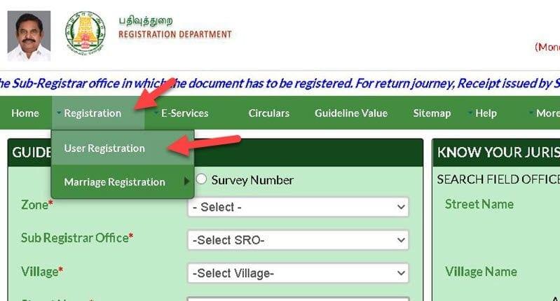 Tnreginet Online Registration