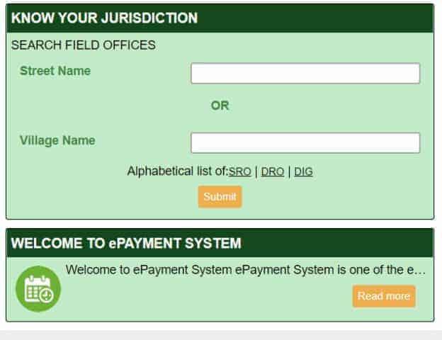 Tnreginet Procedure To Know Your Jurisdiction