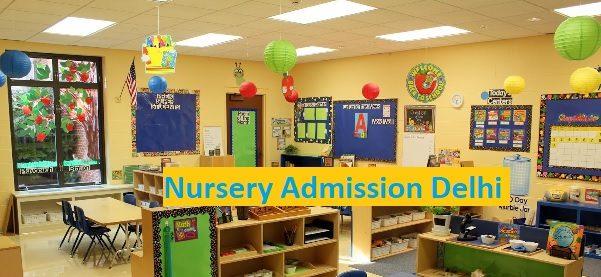 Delhi Nursery Admission Schedule 2021