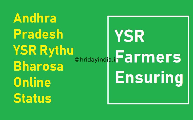 Ysr Rythu Bharosa List 2021 {Status} Payment 1St/2Nd/3Rd Farmer List