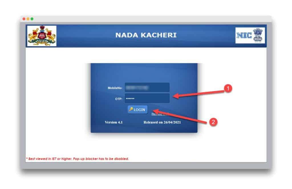 The Application Process For A Caste Certificate In Nadakacheri Cv