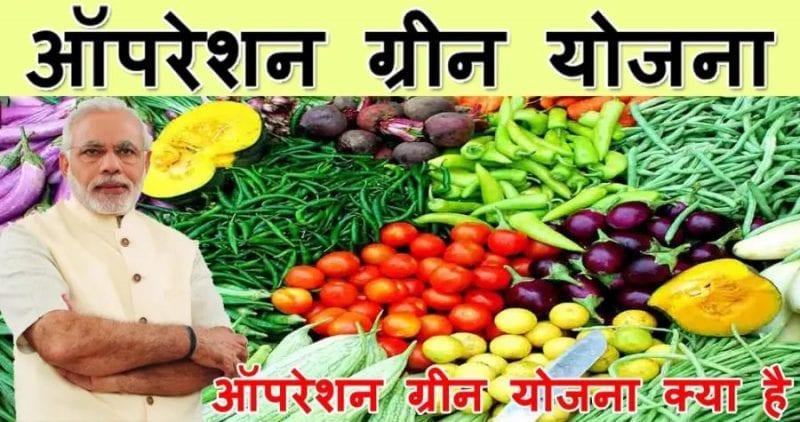 ऑपरेशन ग्रीन योजना / Pm Modi Yojana Operation Green Plan