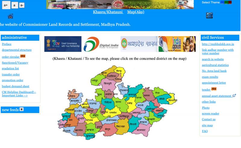 एमपी भूलेख का उद्देश्य / Purpose Of Mp Bhulekh Online Portal