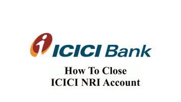 How To Close Icici Nri Acoount